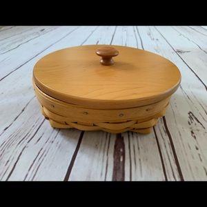 Longerberger Small Catch All Divided Basket
